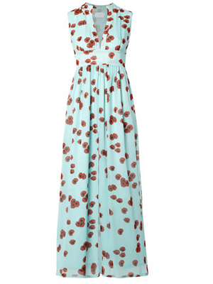 Floral maxi dress // Beautiful Soul London