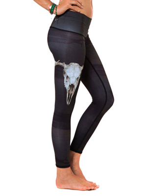 Teeki hot pants for yoga and spinning // made from recycled plastic bottles