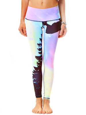 Teeki Hot Pants // made from recycled plastic bottles