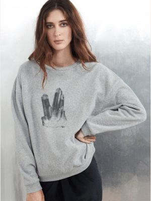 Quartz Sweatshirt // Datura
