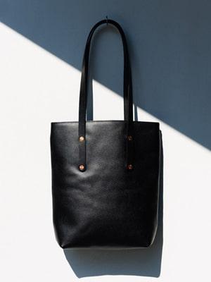 Vegetable tanned bag // handmade in England // Alfie Douglas