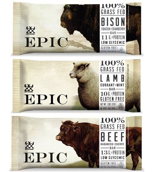 Epic Protein bars // made with grass-fed meat, actually tastes good!