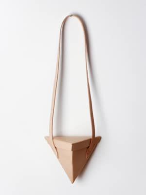 Love Dart Giza Bag // handmade with vegetable-tanned leather