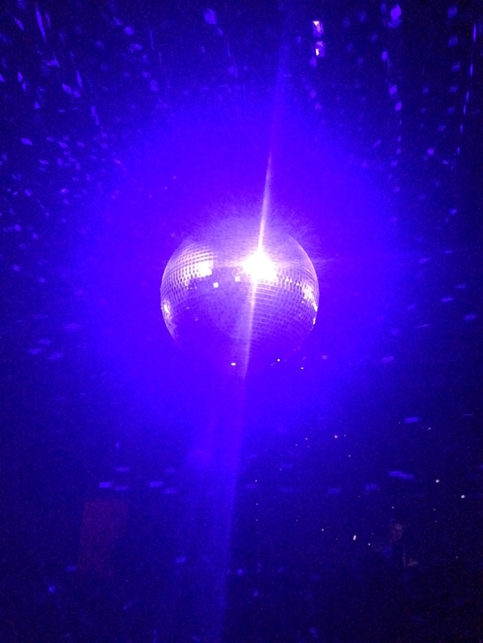 Disco Ball at Verboten