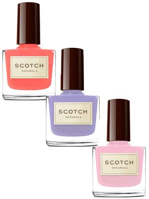Scotch Cocktail nail trio set // non-toxic