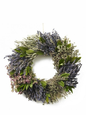 French Herb Wreath // grown free of pesticides and harvested by hand in California