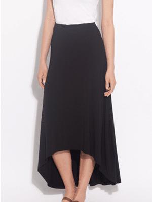 Amourt Vert black mullet skirt