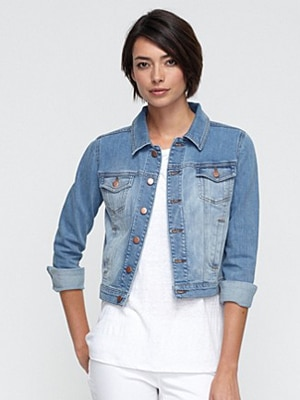 Eileen Fisher organic denim jacket