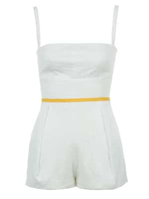 Maggy Frances cotton eyelet romper