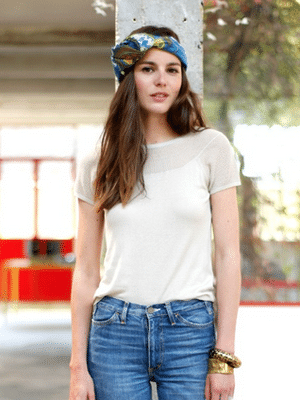 Perfect white tee by Sezane