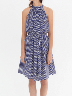 Apiece Apart blue day dress