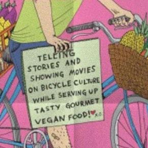 TOMORROW: An All-You-Can-Eat Vegan Feast, Yoga and Bike Talk