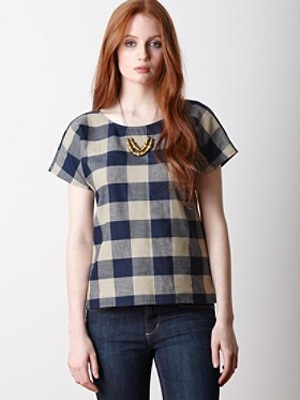 Pendleton Blue Checked Shirt // made in the US