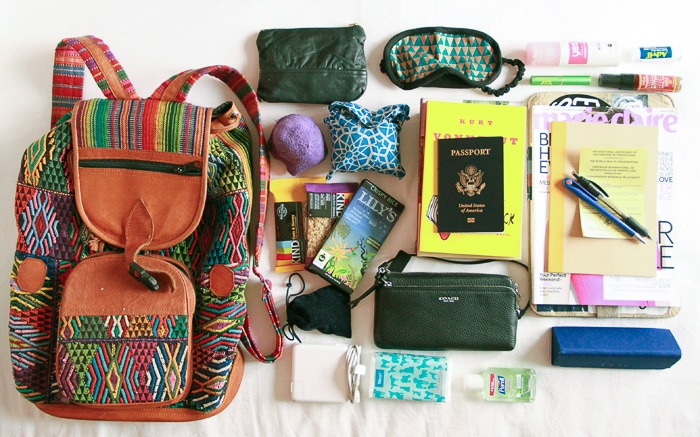 Packing list Bali: carry on