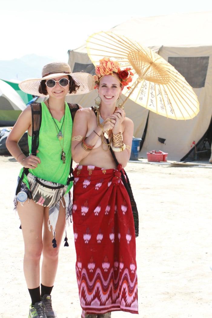 Bali outfit Burning Man
