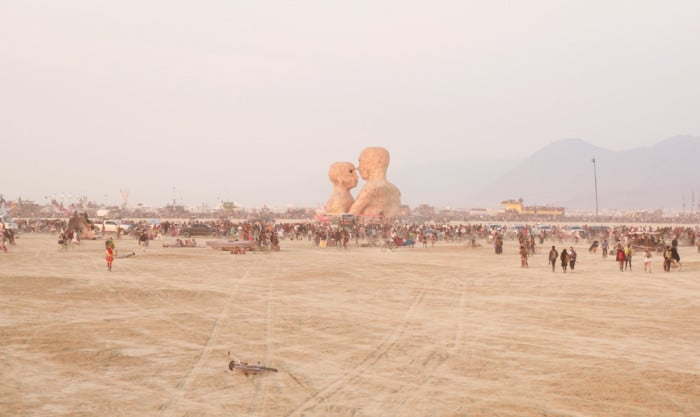 The Embrace at Burning Man