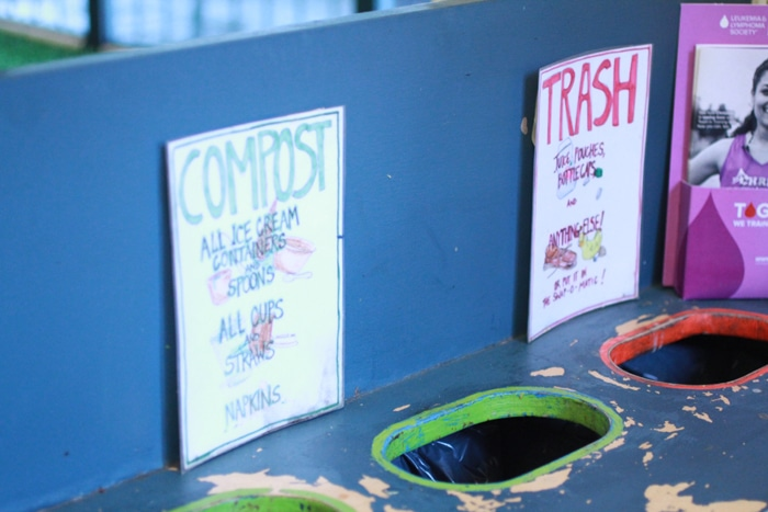 Composting and trash