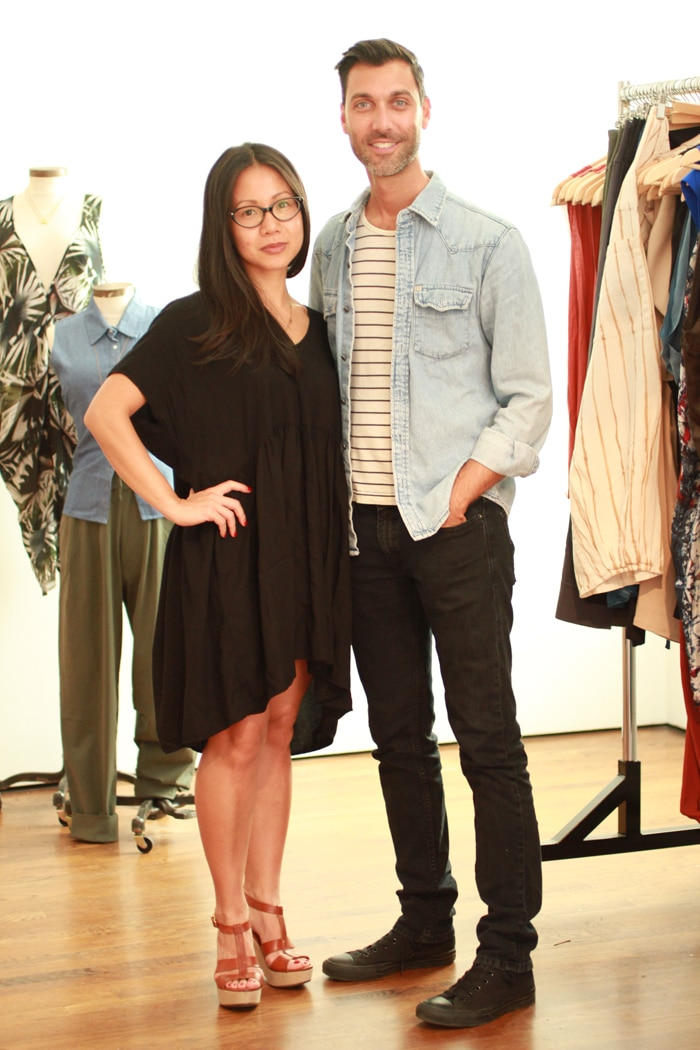 Mae Vu and Dimitri Koumbis, founders of Bishop Collective