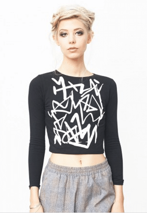 Mary Meyer Crop Top | Made in NYC