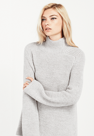 Reformation Emu Alpaca Sweater //  Made in LA