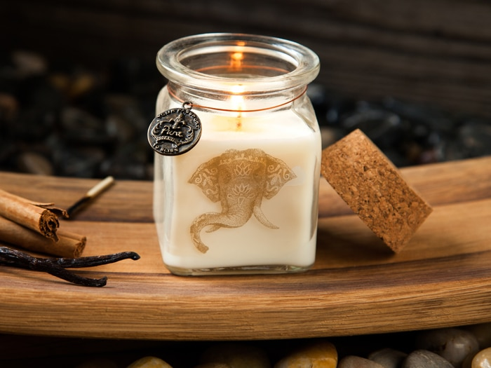 Just Because Sweet Chai Candle by Pura Botanica