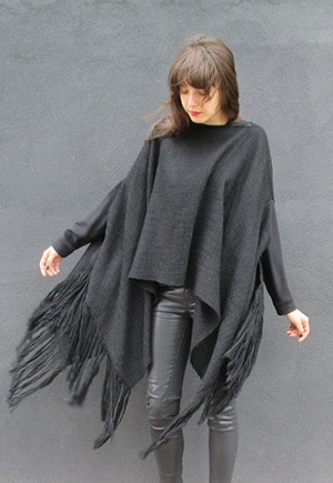 Nomadic Thread Society Wings Poncho // Made in Peru