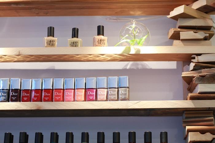 Green nail salon Brooklyn
