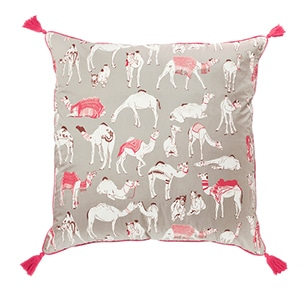 Different Camels Pillow Case