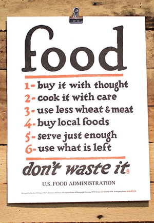 Food Rules Print // by Holstee