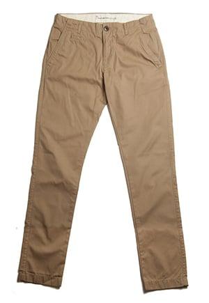 Organic cotton pants, non-toxic dyes, GOTS-certified