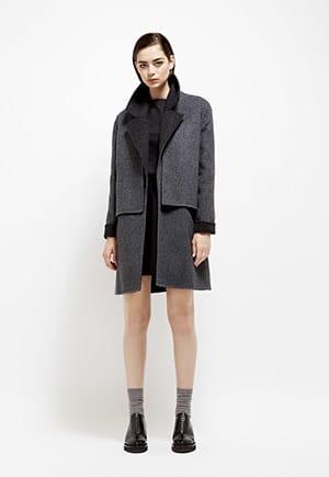 Ohlin/D Alpaca Trench Coat