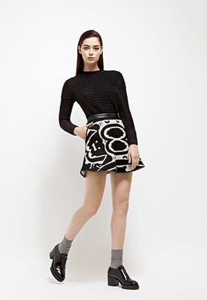 Ohlin/D Alpaca Skirt