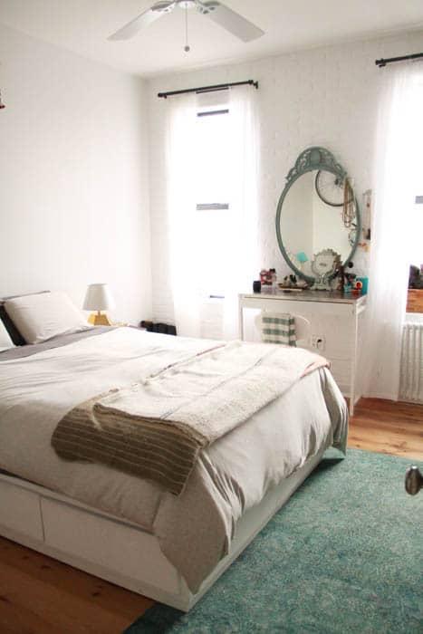 Renovated bedroom in Williamsburg