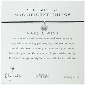 Accomplish Amazing Things wish necklace