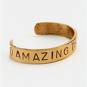 Do Amazing Things bracelet