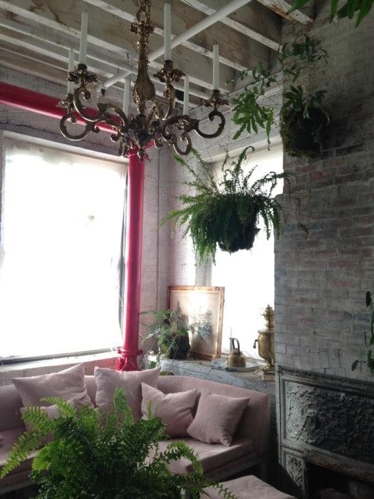 Bellocq tea shop sitting room