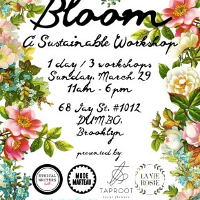 Make Flower Crowns, Sustainable Planters and Organic Bouquets With Us!