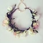 floral crown copy