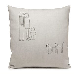Mother's Day gift: personalized pillow