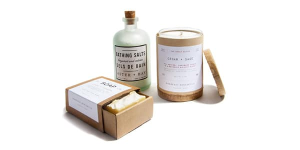Mother's Day bath gift set