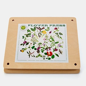 Mother's Day Gift: Flower pressing kit