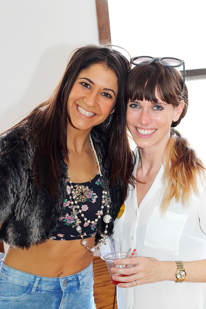 The event was held in the studio/event/class space La Luz, which provides a great space for positive creative social gatherings. Andriana, left, is the owner, and was amazing to work with.