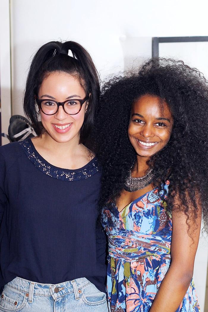 Fashion bloggers Christina and Sunita