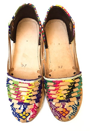 Non-exploitative festival fashion // Flats made in Guatemala