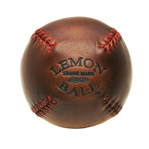Father's Day // leather baseball