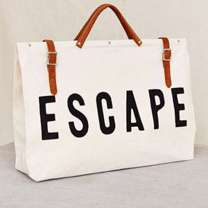 Escape beach bag  // eco-friendly beach essentials