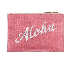 Throw your money and chapstick in this beach-y makeup bag