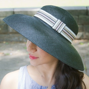Ladylike hat // eco-friendly beach essentials