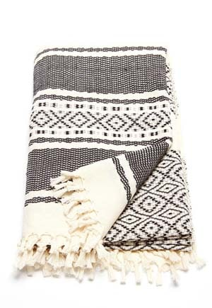 Fair trade beach blanket // eco-friendly beach essentials