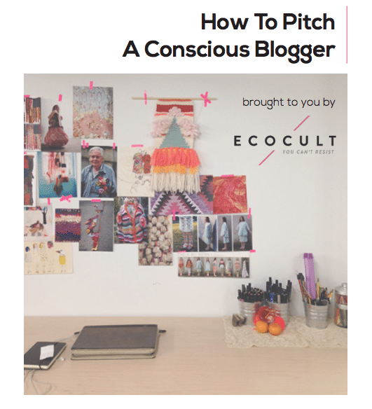 FYI: This Is How to Pitch Me and Other Conscious, Sustainable, and Ethical Bloggers